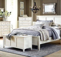Northlake Panel Bed by A-America