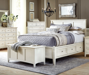 Northlake Storage Bed by A-America