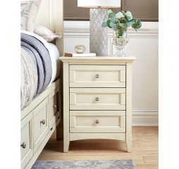 Northlake Three Drawer Nightstand by A-America