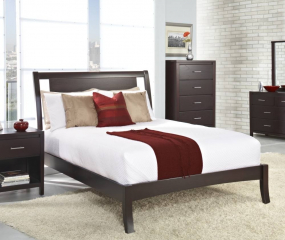 Nevis Low-Profile Bed by Modus