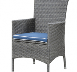 Ridgemonte Upholstered Outdoor Dining Chair Set by Emerald Furnishings