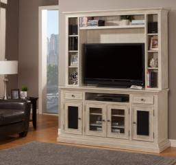 Sumatra 64″ TV Console w/ Interchangeable Doors by North American Wood