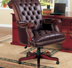 Transitional Dark Brown Office Chair by Coaster