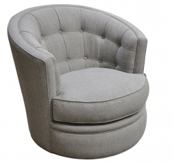 Paz Swivel Chair by Omnia