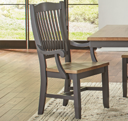 Port Townsend Slatback Arm Chair by A-America