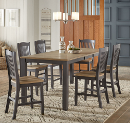 Port Townsend Gathering Height Leg Table by A-America