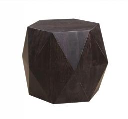 Prism Noir Side Table by Porter