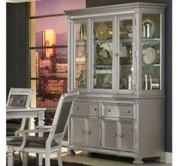 Bevelle Buffet and Hutch by Homelegance