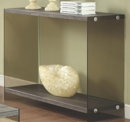 Console Table w/ Glass Sides by Coaster