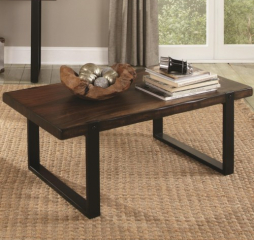 Coffee Table with Rustic Look by Coaster
