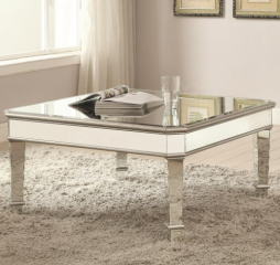 Mirrored Coffee Table by Coaster