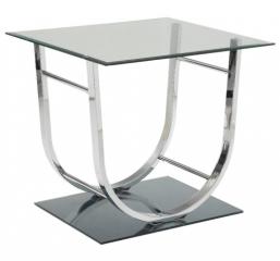 U-Shaped Contemporary End Table by Coaster