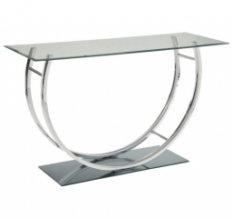 U-Shaped Contemporary Sofa Table by Coaster