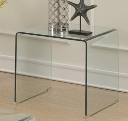 Clear Acrylic End Table by Coaster