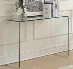 Clear Acrylic Sofa Table by Coaster