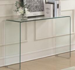 Clear Acrylic Sofa Table by Coaster