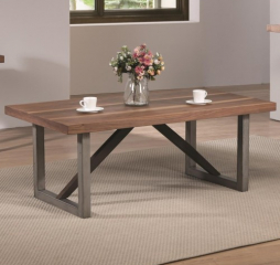 Industrial Coffee Table by Coaster