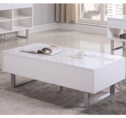 Rectangular Coffee Table with Two Drawers by Coaster