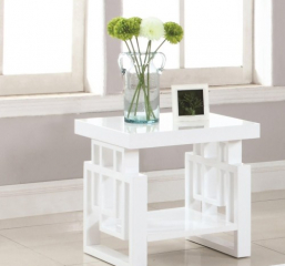 Rectangular Contemporary End Table by Coaster