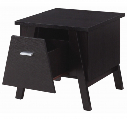 Rectangular End Table with Drawer by Coaster