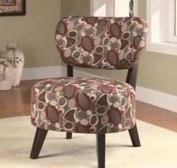 Seating Accent Chair w/ Padded Seat by Coaster