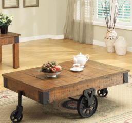Distressed Country Wagon Coffee Table by Coaster