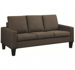 Bachman Sofa with Track Arms and Tapered Wood Legs by Coaster