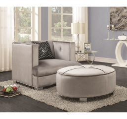 Caldwell Glamorous Ottoman by Coaster