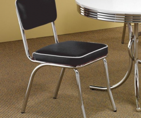 Retro Side Chair by Coaster