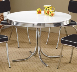 Retro Round Table by Coaster