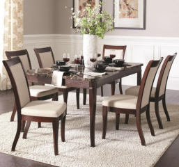 Cornett Dining Table by Coaster