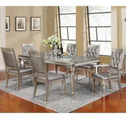Danette 65″ Dining Table w/ 20″ Leaf by Coaster