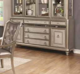 Danette Six Drawer Server w/ Two Doors by Coaster