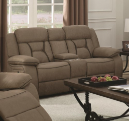 Houston Motion Loveseat by Coaster
