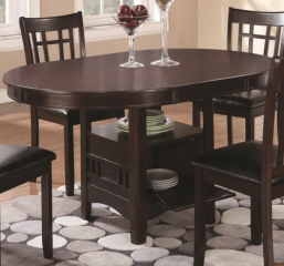 Lavon 42″ Dining Table w/ 18″ Leaf by Coaster