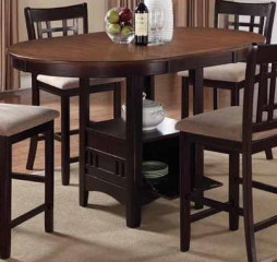 Lavon 42″ Counter Height Table w/ 18″ Leaf by Coaster