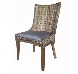 Matisse Rattan Demi Wing Back Chair by Coaster