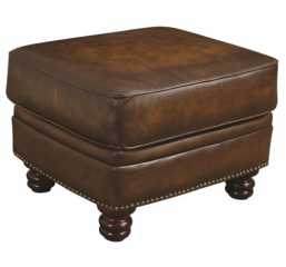 Montbrook Traditional Ottoman with Nailheads by Coaster