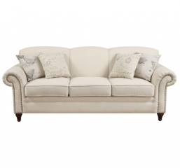 Norah Antique Inspired Sofa with Nail Head Trim by Coaster