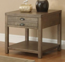 Cottage End Table with One Drawer by Coaster