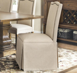 Parkins Skirted Parson Chair by Coaster