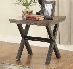 Romilly Rustic End Table by Coaster
