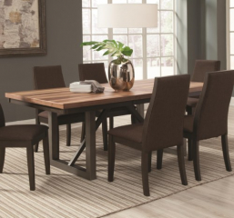 Spring Creek 59″ Dining Table w/ 18″ Leaf by Coaster