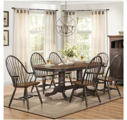 Cline 60″ Dining Table w/ 18″ Leaf by Homelegance