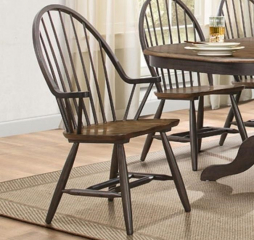 Cline Windsor Chair w/ Arms by Homelegance