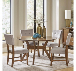 Edam Round Dining Table by Homelegance