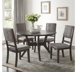 Nisky Round Dining Table by Homelegance