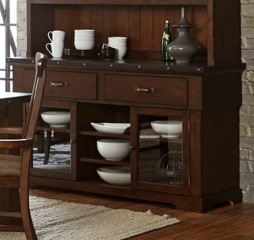 Schleiger Buffet and Server by Homelegance