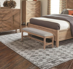 Auburn Upholstered Accent Bench by Scott Living