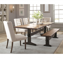 Burnham Live Edge Dining Table by Coaster